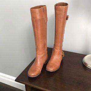 Nine West Tall light brown boots
